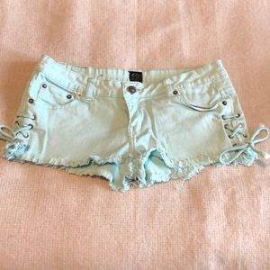 Rip curl 🌊 jean booty shorts size 5